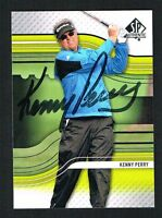 Kenny Perry #44 signed autograph 2012 SP Authentic Upper Deck Golf Card