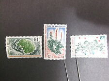 FRENCH SOUTHERN & ANTARTIC TERRITORIES  SC# 54-56  M N/H COMPLETE SET   LOT 1020