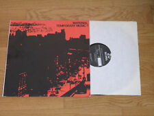 Material-Laswell-Temporary Music 1 ZU RECORDS 1979 RARE