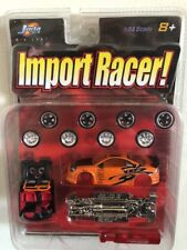 2003 Jada Toys IMPORT RACER 1/64 MITSUBISHI ECLIPSE Orange model kit SUPER RARE