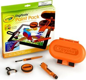 NEW Crayola DigiTools Digi Tools Paint Pack Paint App for iPad & Android