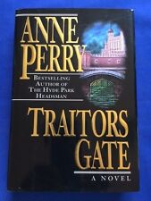 TRAITOR'S GATE - FIRST EDITION SIGNED BY ANNE PERRY