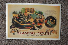Flaming Youth Lobby Card Movie Poster with Colleen Moore
