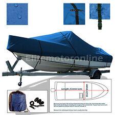 Boston Whaler 170 Montauk Trailerable Fishing Boat Cover Blue