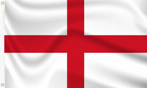 ENGLAND FLAG - ST GEORGE ENGLISH FLAGS Hand, 3x2, 5x3, 8x5 Feet by OneFiftyFlags