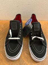 vans ortholite Black Canves Men's Size 13