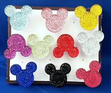 Mouse Jewel Heads - Set of 10 Handmade Decorative Memo Magnets
