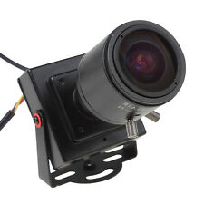 Mini 700TVL 1/3 CMOS 2.8-12mm Manual Lens Security Audio Video Color CCTV Camera