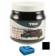 TRG GRISON BLACK LEATHER CAR INTERIOR DYE COLOUR RESTORER CREAM 14 COLOURS