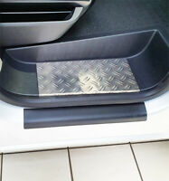 Trittbretter für FIAT DUCATO 3 Wohnmobil Alu Riffel mit Abkantung EXTRA ROBUST