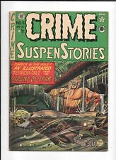 CRIME SUSPENSTORIES #5 ==> VG+ FLOATING CORPSE PRE-CODE HORROR EC COMICS 1951