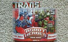 Transformers Robot Heroes - Movie Series Protoform Jazz & Decepticon Brawl