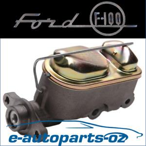 Master Cylinder Ford F100 F150 F250 Bronco 1977-87, 4X2, 4X4, Disc & Drum Brake