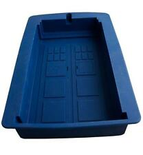NEW Dr Doctor Who - BLUE TARDIS Silicone Cake Chocolate Jelly Mould