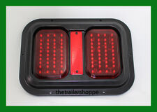 Double Stop Turn Tail LED Light with Black Base for RV Motorhome Camper Trailer