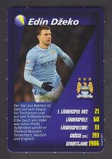 Real - Welt Fussball Stars 2014 - Edin Dzeko - Manchester City