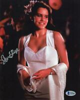 """Ione Skye """"Say Anything"""" AUTOGRAPH Signed 'Diane Court' 8x10 Photo Beckett BAS"""