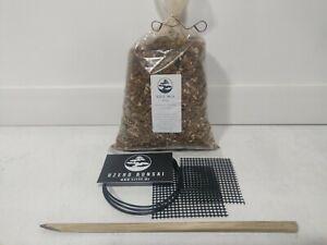 BONSAI Re-POTTING Kit  (soil mix (800g), mesh, wire, chopstick) FREE SHIPPING
