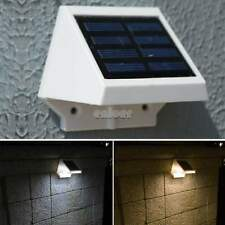 4 LED Solar Reflector Foco Lámp Jardín casa LUZ Impermeable lámpara Light ♥♥