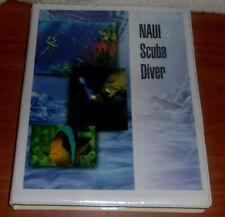 Naui Scuba Diver Book 2 Dvd's Nice Course Learn to become a Diver