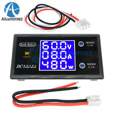 Digital DC 100V 10A 1000W LCD Voltmeter Ammeter Voltage Current Volt Power Meter