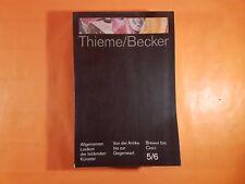 Thieme/Becker, 5/6, Lexikon der bildenden Künstler, 1992  (AMB193)