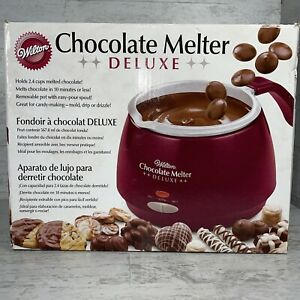 Wilton Chocolate & Candy Melter Deluxe Pot & Insert Model CM520AU Discontinued