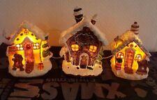 Lebkuchenhaus-Zuckerhaus-Pfefferkuchenhaus mit beleuchtung