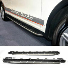 11-17 Porsche Cayenne Aluminum Running Boards Kit Side Step Nerf Bar OE Style