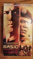 Basic VHS Video Movie VCR John Travolta Samuel Jackson Connie Nielsen