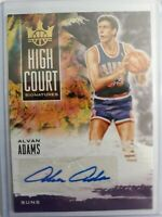 2019-20 Panini Court Kings Alvan Adams AUTO High Court /179 SSP Phoenix Suns