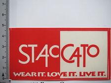 Aufkleber Sticker Staccato - Babybekleidung - Kindermode (6720)