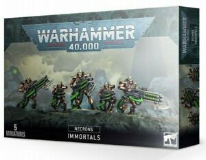 WARHAMMER 40K ~ NECRON IMMORTALS ~ NEW - UNOPENED