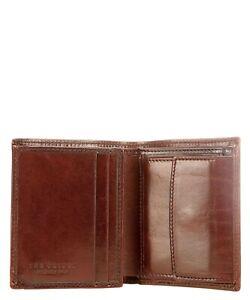 New The Bridge Leather Men Wallet Purse  013015