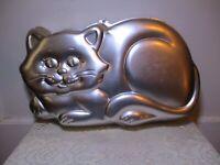 Vintage WILTON CAT CAKE PAN JELLO MOLD #2105-1009 FROM 1987