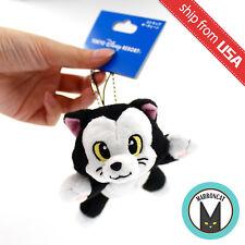 Japan Tokyo Disneyland Disney Sea Limited Figaro Cat Plush Bean Bag Charm Rare