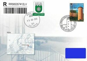 Latvia 2019 (04) Lighthouses of Latvia - Slitere (addressed FDC)