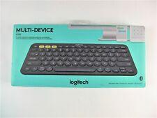 Logitech 920-007558 K380 Multi-Device Bluetooth Keyboard - Grey B25
