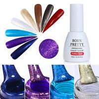 10ml Holographic Glitter Gel Colors Soak Off Nail Art UV Gel Polish BORN PRETTY