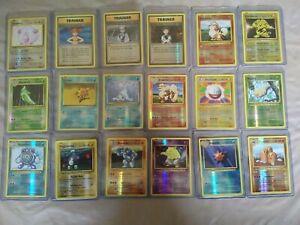 POKEMON EVOLUTIONS REVERSE HOLO JOB LOT BUNDLE 35 CARDS PACK FRESH