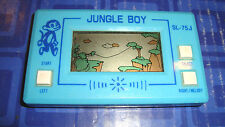 Vintage JUNGLE BOY  LCD Card Game Watch Type Model SL-75J Pocket