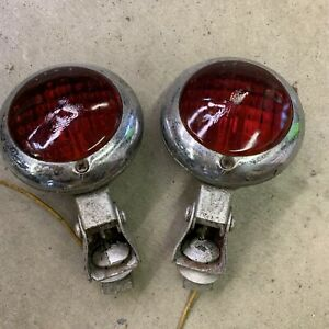 PM Co 400 Red Stop Running Brake Lights Backup Reverse GM Accessory Rear Chopper