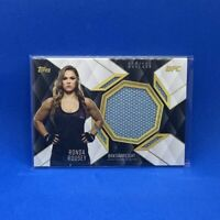 Rowdy Ronda Rousey Fight Mat Relic 2016 Topps UFC Top of the Class /199