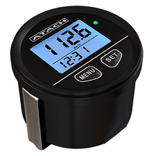 ATACH 60mm Digital GPS Speedometer with backlight display and high speed recall