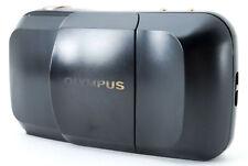 """Excellent++++"" Olympus mju Panorama Black 35mm Film Camera from Japan #1716"