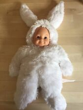 Anne GEDDES plush doll in Rabbit Costume