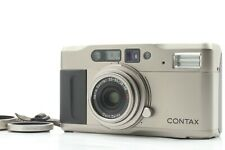 Mint 🌟 Contax TVS 35mm Point & Shoot Film Camera T* Lens + Data Back from Japan