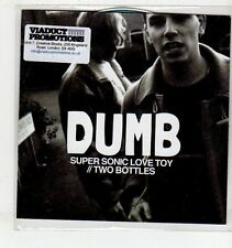 (EV861) Dumb, Super Sonic Love Toy - 2013 DJ CD