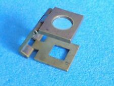 Folding Brass Thread Counter Magnifier Pocket Loupe  --  NICE ONE
