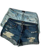 2 pair - Abercrombie & Fitch Women's Boyfriend Distressed Shorts Sz 31/12